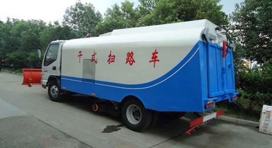 江淮小型扫路车图片3