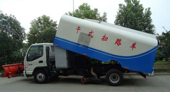 江淮小型扫路车图片2
